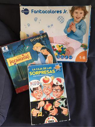 Juegos niños de 1 - 6 años.