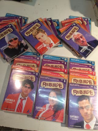 Rebelde DVD