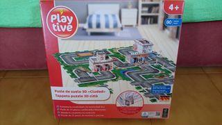 Puzzle suelo ciudad