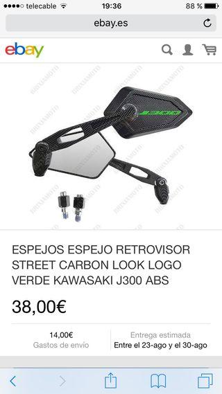 Espejos moto kawasaki j300
