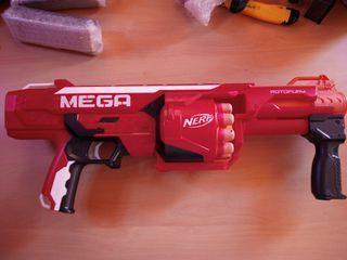 Nerf Mega + munición extra