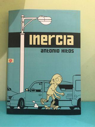 """Cómic """"Inercia"""" Antonio Hitos"""
