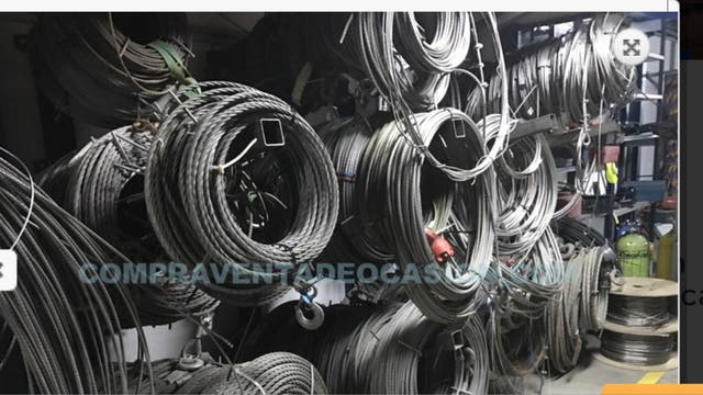 Tractel usado tirfor T35 3000 kg con cable de acer