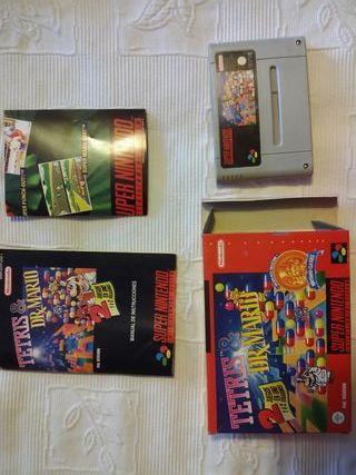 Tetris y Doctor Mario
