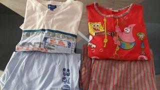 pijama verano chico talla 12