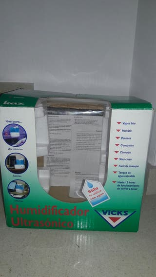 Humidificador ultrasonico