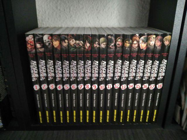Manga Shingeki no Kyojin (1-18)