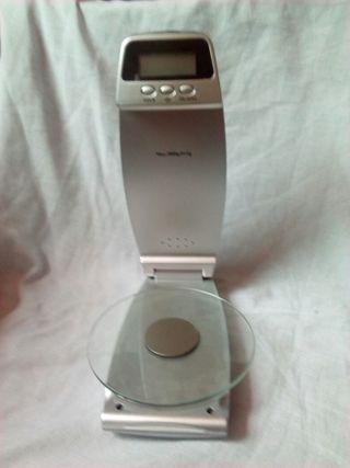 bascula digital+ reloj