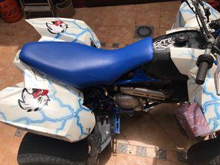 quad polaris sin motor