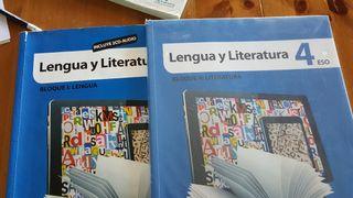 libros lengua y literatura 4 eso