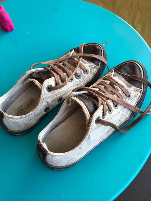 debd0adfc1338b Zapatillas Converse mujer talla 35 de segunda mano por 7 € en ...