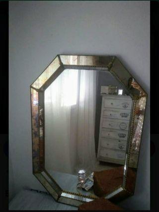 Espejo vintage tipo veneciano