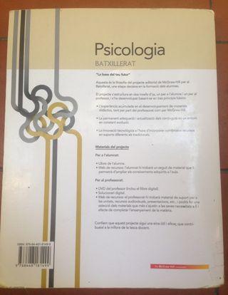 Llibre Psicologia 1r batxillerat