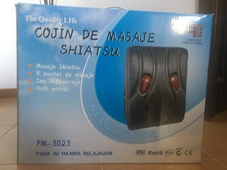 Cojin de masaje Shiatsu