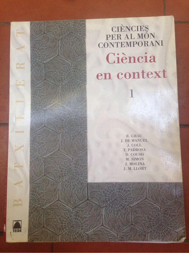 Llibre Ciències del món contemporani