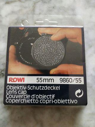 Tapa de objetivo camara de fotos, ROWI
