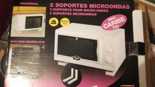 soporte microondas