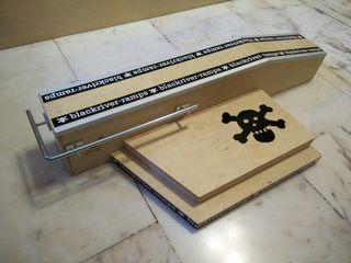Rampa fingerboard