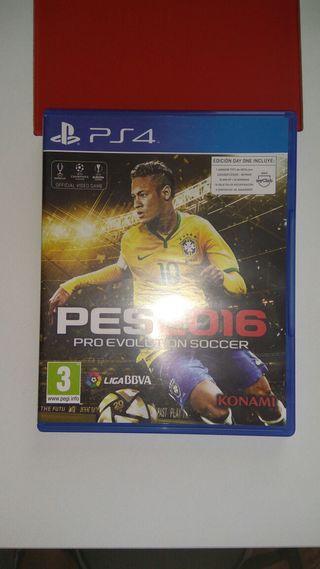 PES 2016 para play 4