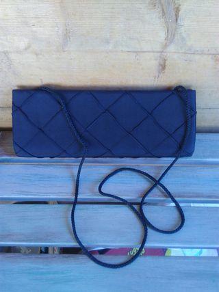 bossa de mà / bolso festa, negre