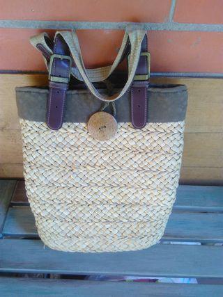 bolso de verano de palma