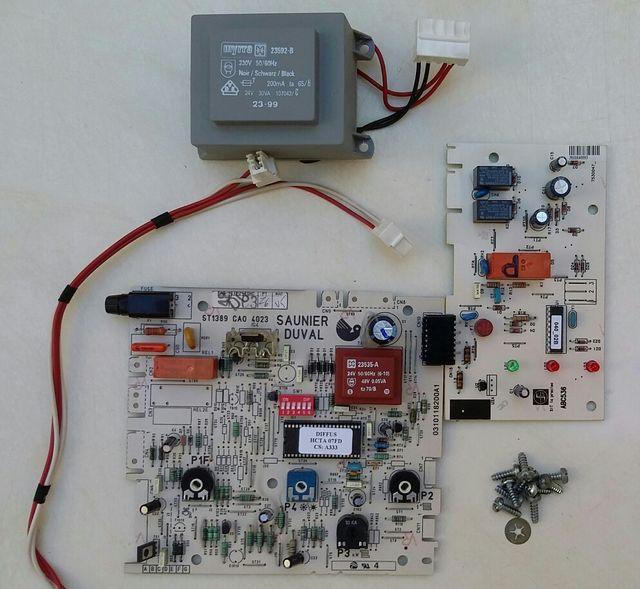 Placa Electronica Caldera Saunier Duval Thema C23e De Segunda Mano Por 45 En Calella En Wallapop