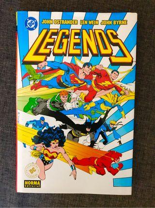 Comics LEYENDAS john byrne clásico