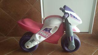 moto sin pedales niña