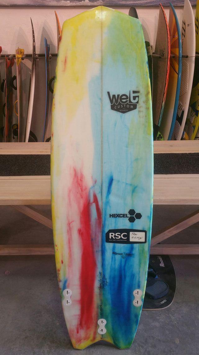 "tabla Kite surf wet custom 5'6"""