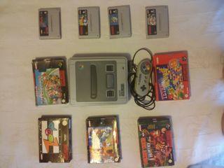 Super Nintendo y juegos