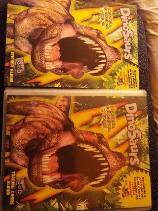 cromos dinosaurs