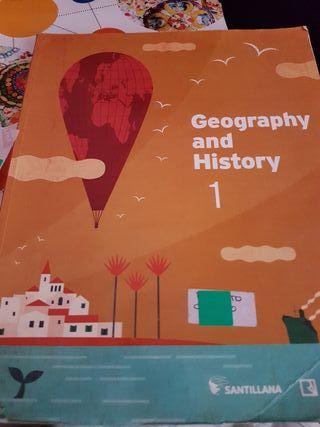 libro geography and history 1 eso santillana