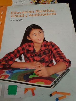 libro educacuon plastica y visual 1 eso santillana