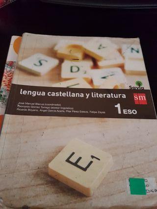 libro de lengua 1 eso sm