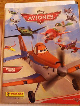 cromos aviones