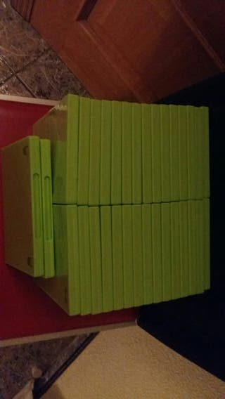 32 cajas para cd