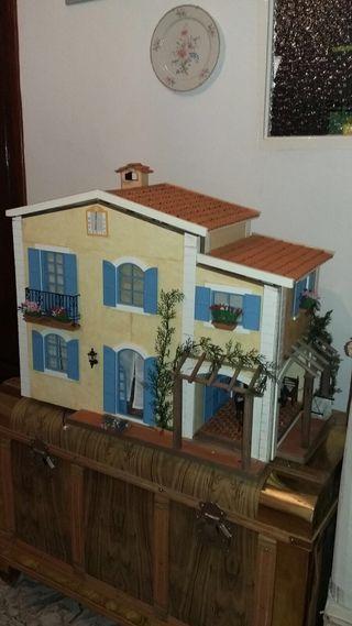 Casa mediterranea muñecas