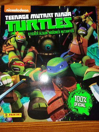 cromos tortugas ninja