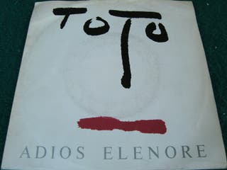 "TOTO.-ADIOS ELENORE- SINGLE VINILO 7""."