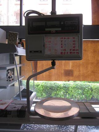 2 balanzas pesos colgantes Epelsa