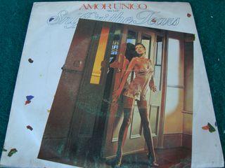 "SNIFF & THE TEARS.-AMOR UNICO- SINGLE VINILO 7""."