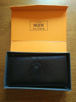 Cartera billetera de piel McJIM