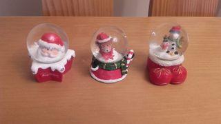 Bolas de Nieve Adornos Navidad