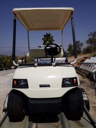 yamaha golf buggy electrico, faltan las baterias