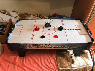 Juego power hockey niños
