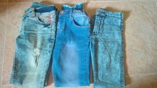 pack de pantalones niña