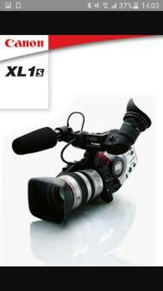Vendo Camara de video Canon XL1 s