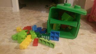 cubo piezas