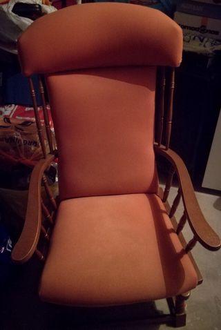 Pareja de sillones balancín