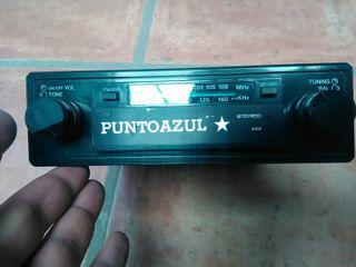 antigua radio coche